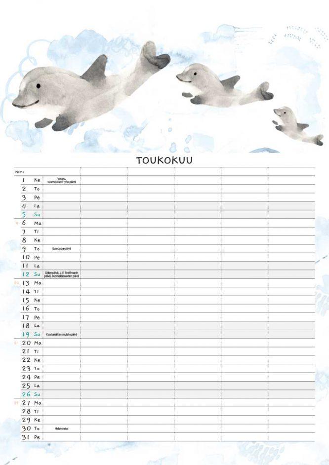 Sokru • Kalenteri 2019 6