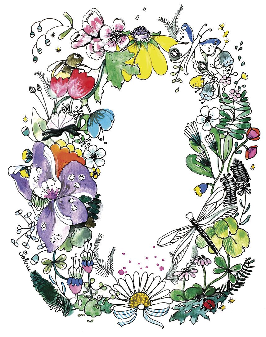 Sokru • Kukkakranssi