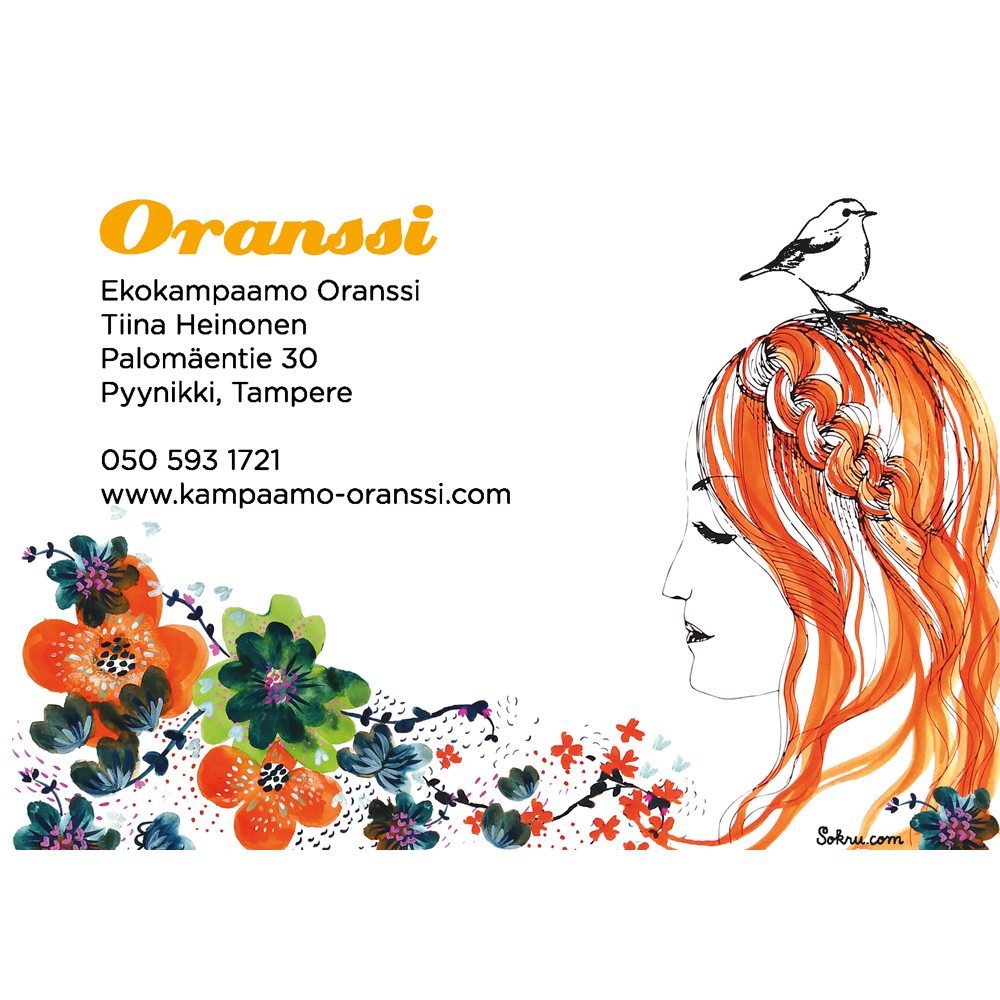 Sokru • Oranssi Flyer