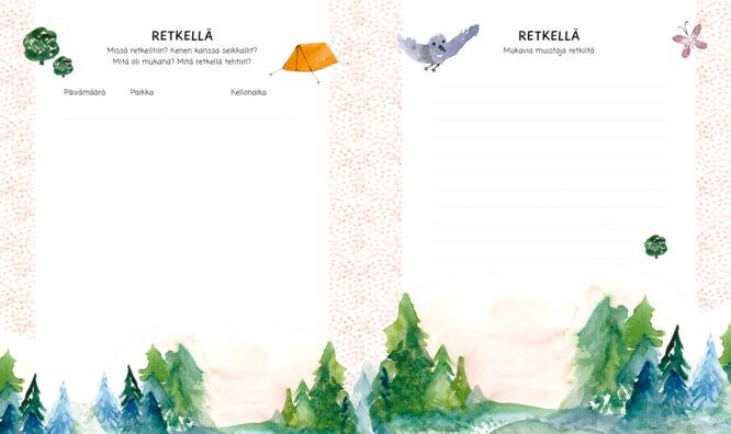 Sokru • Pienen Seikkailijan Kirja Retkella Aukeama Outi Virtanen